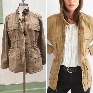 GAP utility jacket garment dye size Large